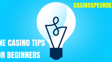 Online casino tips voor beginners