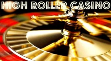 High roller online casino's